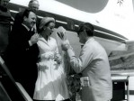 1962 Arrivo Attrice Francese