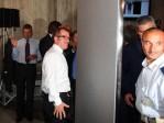 Il Ministro degli Interni On. Maroni si sottopone al Body Scanner