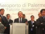 Il Ministro degli Interni On. Maroni interviene alla conferenza stampa