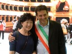 Volo Korean Air - conferenza Teatro Massimo