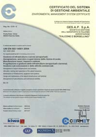 Certificato iso 14001 scad